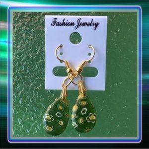 Jewelry - Glass Drop Earrings